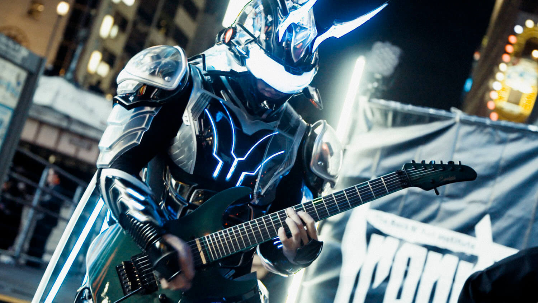 サイボーグギタリスト「Ediee Ironbunny」オリジナル楽曲、本日配信スタート! 演奏コンテストも開催決定