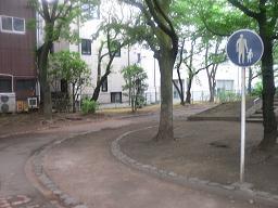 D旧呑川緑地①(入り口).JPG