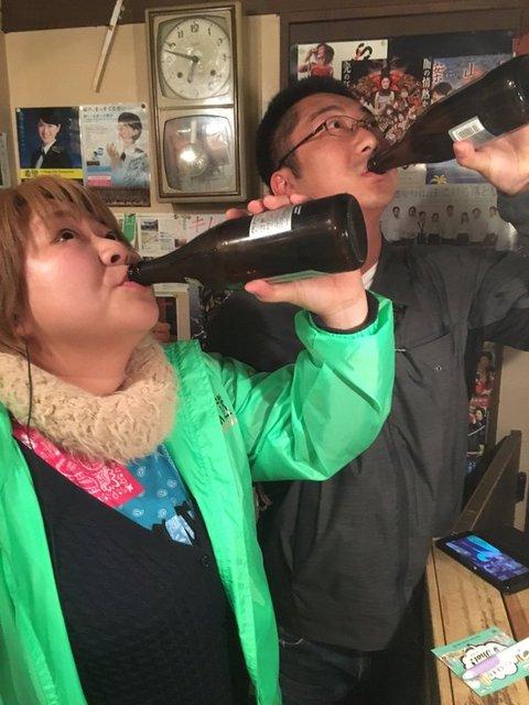 やしろ優 一軒目ラジオ焼き4.jpg