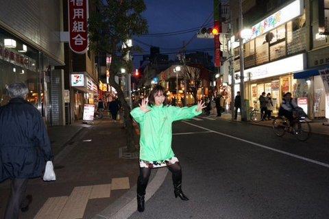 加納アナ 道のど真ん中でがほほ.jpg