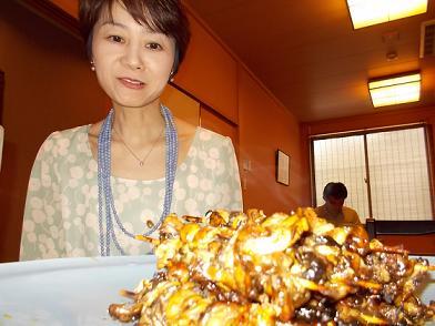 老舗の鰻蒲焼店「山崎屋」さんにて.JPG