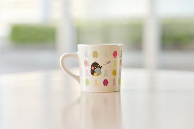 キューイチローのカラフルマグカップ.JPG