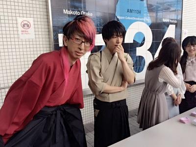 終演後 桜と松 .jpg