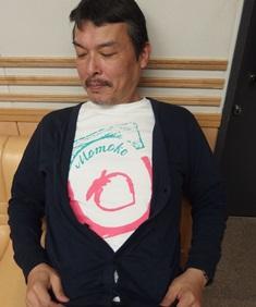 桃子Tシャツ2014.jpg