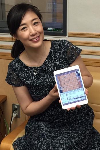 将棋アプリに夢中の桃子さん.jpg