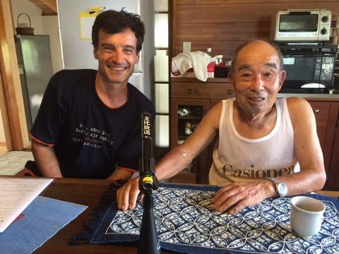 アーサーと持丸さん.JPGのサムネール画像