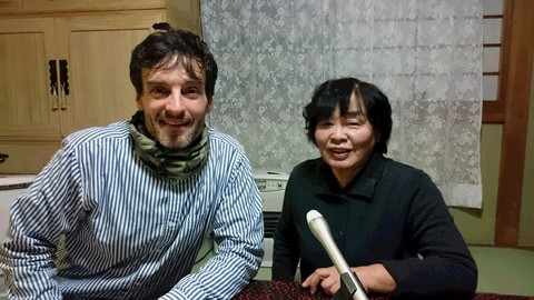 鳴海さんとアーサー.JPG