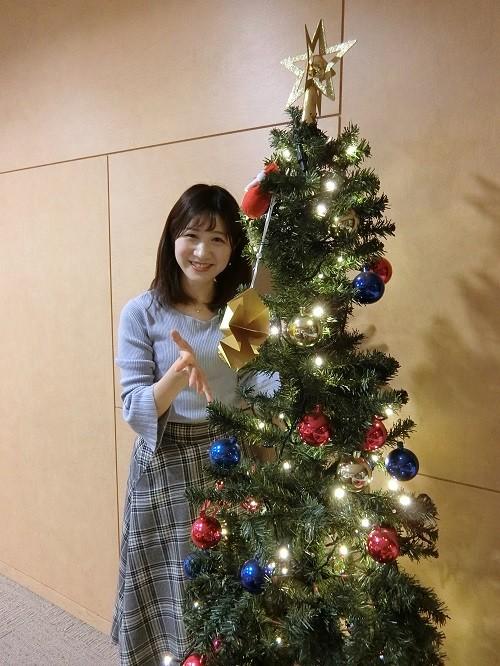 クリスマスツリー!