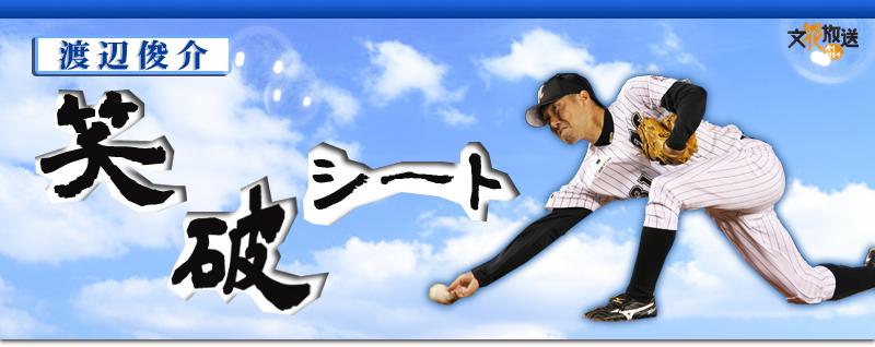 渡辺俊介「笑破」シート