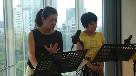女性2人オペラ