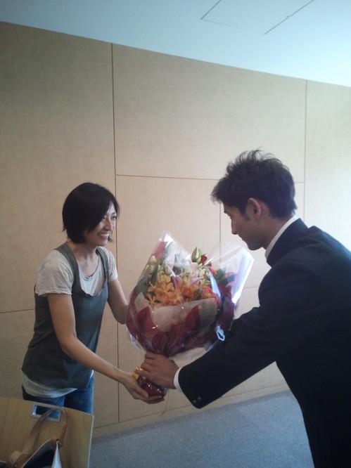 銀メダルおめでとう.JPG