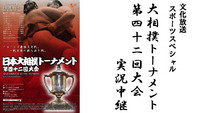 <font color=deeppink><strong>★New!</strong></font>2月11日(日)午後4時00分~5時25分オンエア『日本大相撲トーナメント第42回大会実況中継』
