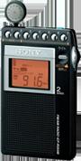 ソニー AM/FM ポータブルラジオ