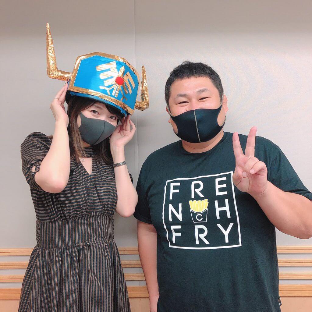 【放送後記】9/30(木) レコメン!パーソナリティのオテンキのりさんが登場!