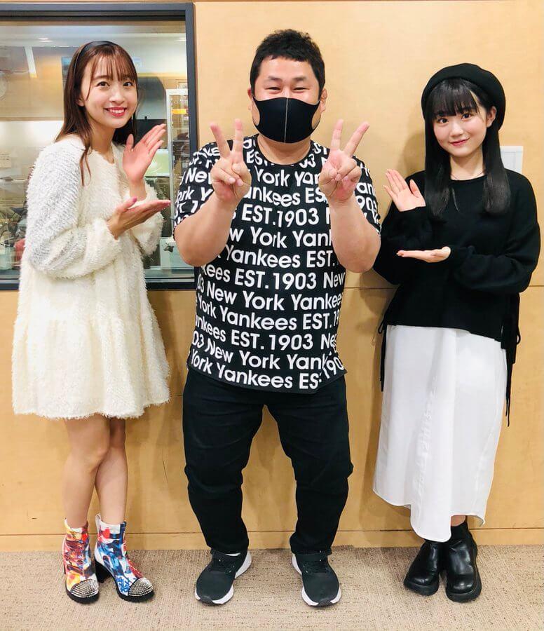 4/7(水)SUPER☆GiRLS渡邉幸愛ちゃん阿部夢梨ちゃんが生登場でした!