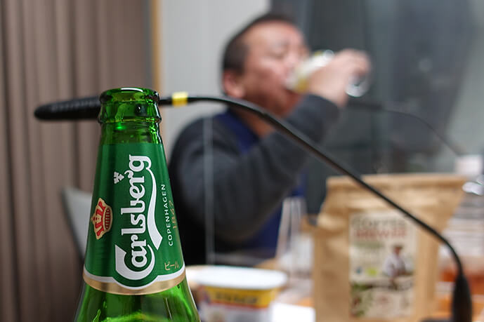 林家たい平デンマークのビールに舌鼓♪