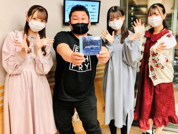 3/29(月)【≠ME】蟹沢萌子ちゃん&冨田菜々風ちゃん&谷崎早耶ちゃんが生登場でした!