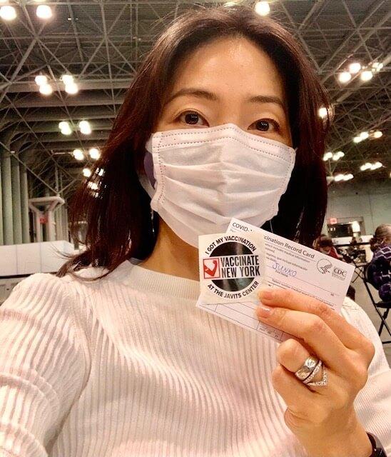 ワクチン接種しました!! 『川口技研presents~久保純子 My Sweet Home』