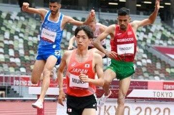陸上男子3000メートル障害で三浦龍司(順大)が日本新記録をマークして決勝へ~7月30日陸上競技