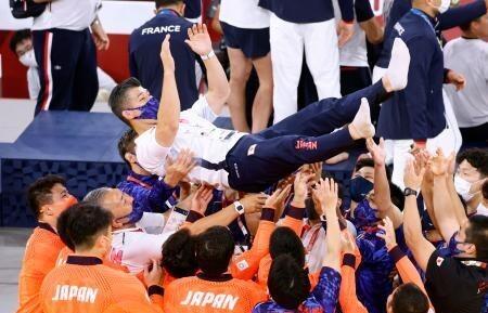 柔道男子日本代表の井上康生監督が退任意向表明