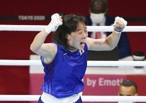 ボクシング女子フェザー級 入江聖奈日本ボクシング女子で初の金メダル!