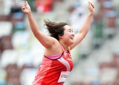 陸上女子やり投げで北口榛花が決勝へ~8月3日陸上競技