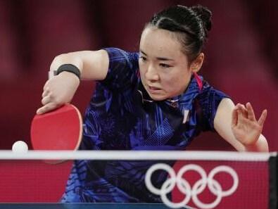 伊藤美誠 卓球女子シングルスで銅メダル獲得!
