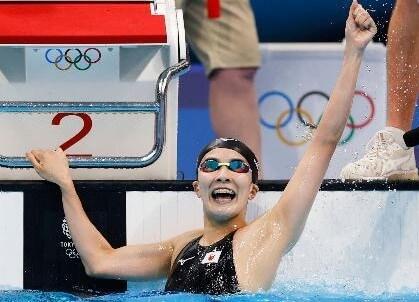 大橋悠依が競泳女子史上初の2冠達成!