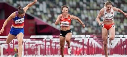 寺田明日香、準決勝で力尽きる 陸上女子100m障害~8月1日陸上競技