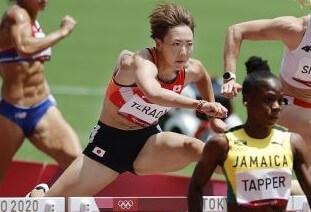 陸上女子100mハードル寺田明日香 準決勝進出~7月31日陸上競技
