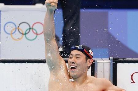 競泳男子200メートルバタフライで本多灯が銀メダル!今大会競泳男子選手で初メダル