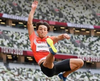 陸上男子走り幅跳びで橋岡優輝が6位入賞~8月1日陸上競技