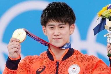 体操男子種目別鉄棒で橋本大輝二つ目の金メダル