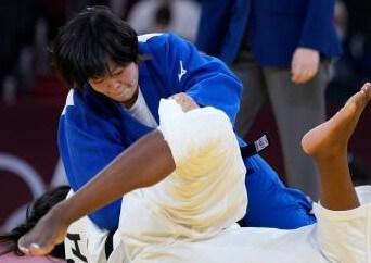 柔道女子78キロ級で浜田尚里 金メダル!