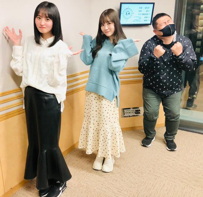 4/21(水)放送レポ・真佑ちゃんさくらちゃんが新シングルに向けての思いを語る!