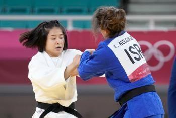 柔道女子57キロ級で芳田司が3位決定戦に勝ち銅メダルを獲得!