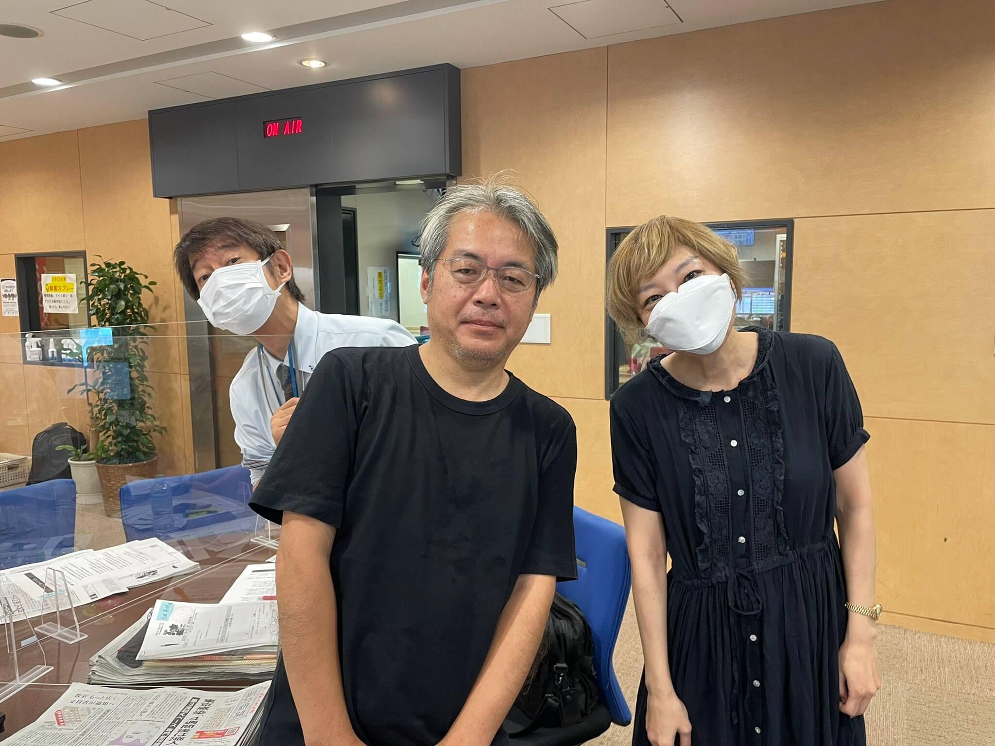 7/16(金)スペシャルゲスト青木理さん!リスナーのお悩みを聞く2時間半!!