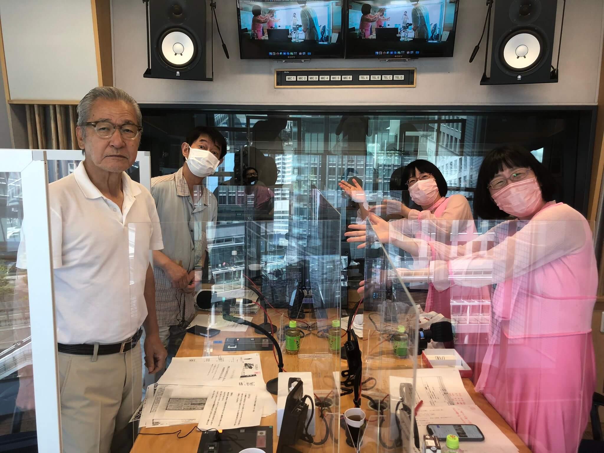 7/19(月)今日から3週間、アナウンサーは太田アナに!砂山アナへの中継も!