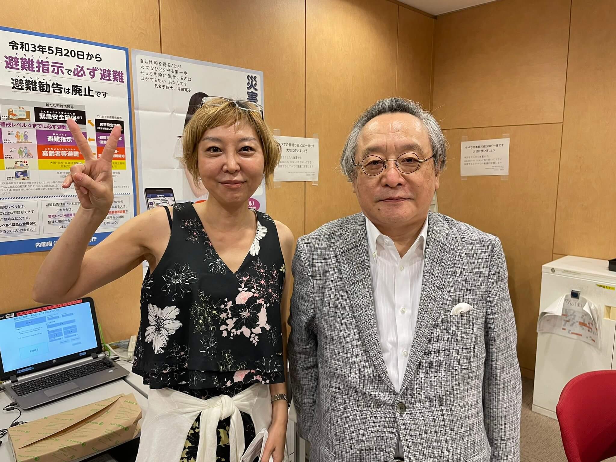 7/30(金)ゲストは憲法学者・小林節さん!!今の政治について議論かわす。