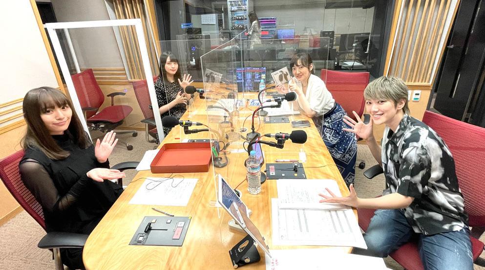 七海ひろき、大好きなアニソンがかかってノリノリの生放送!キミまち!7月10日レポート