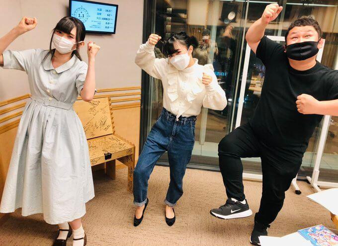 3/31(水)Aqours諏訪ななかさん小林愛香さんが生登場でした!
