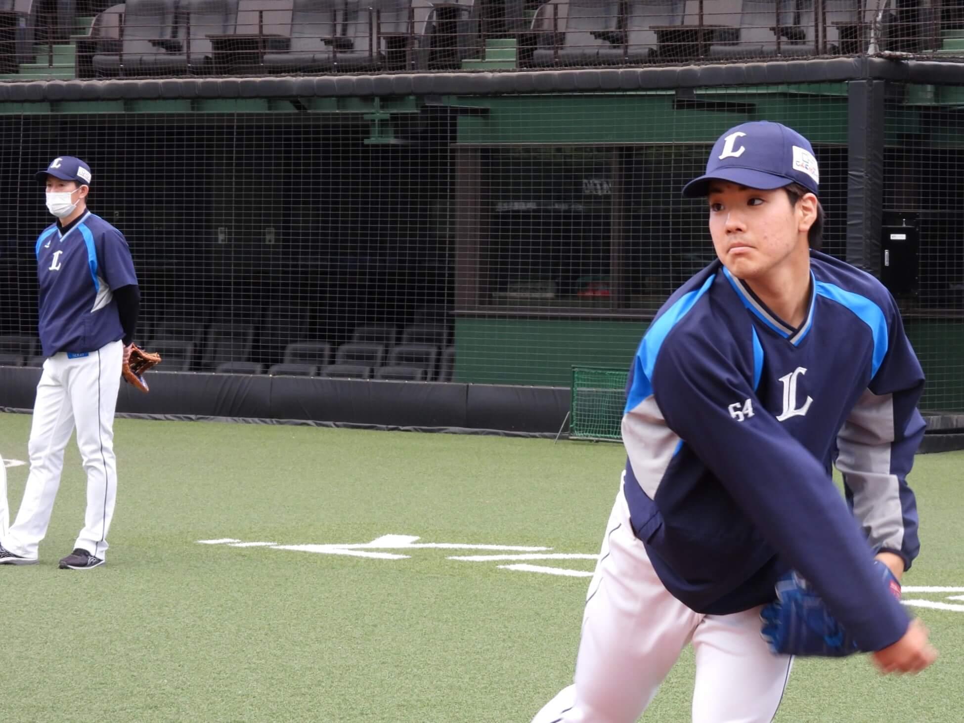若獅子ローテでオリックス3連戦!上間永遠がプロ2度目の先発、雄星・光成らに続いて大阪で初白星を!
