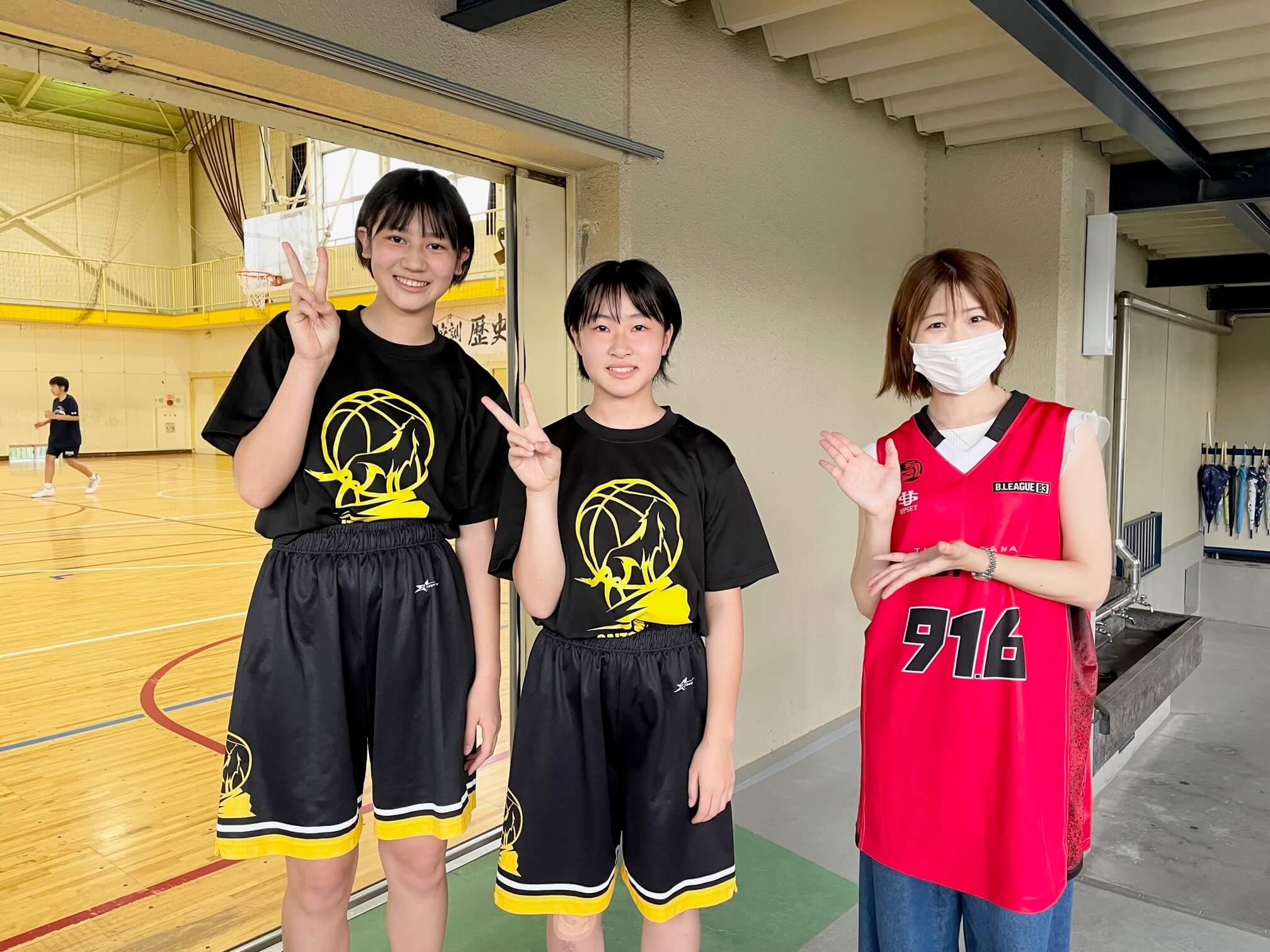 一番モテるのはサッカー部!? さいたま市立大原中学校女子バスケットボール部を取材!「New Stars」#7(7月18日放送分)