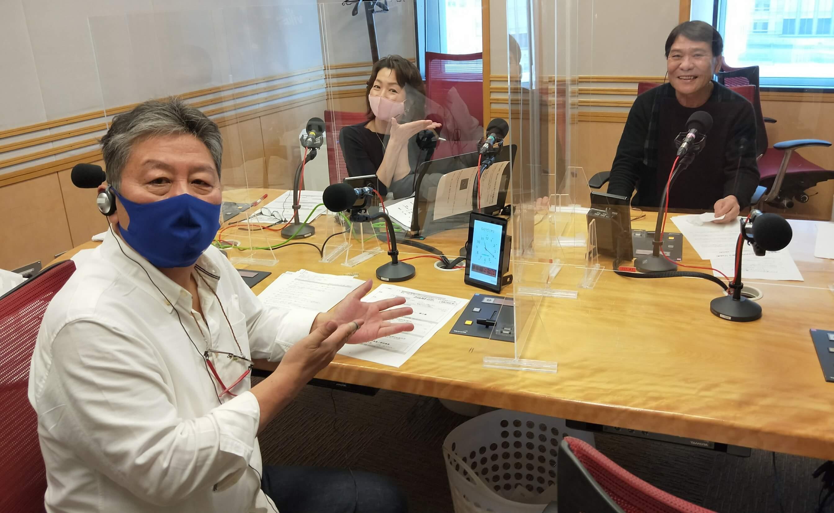 『くにまるジャパン極・極シアター』4月15日(木)のお客様:おすぎ さん