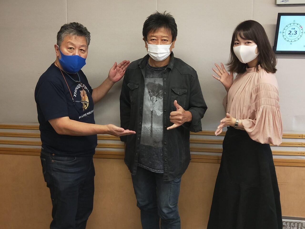 くにまるさん、お客さんですよ!声優・井上和彦さん
