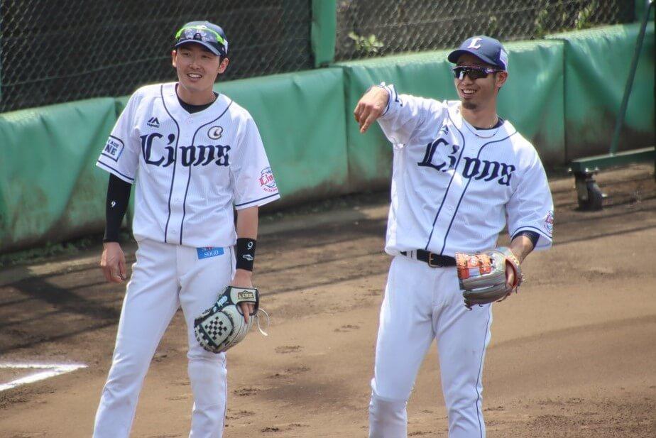 左腓骨骨折の西武・外崎が実戦復帰 「野球ができる喜びを感じながら」二軍で源田と豪華二遊間復活