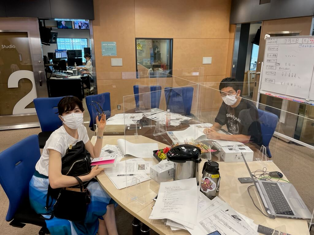 7/15(木)武田砂鉄さんと小島慶子さんのトークが白熱しすぎて・・・!?