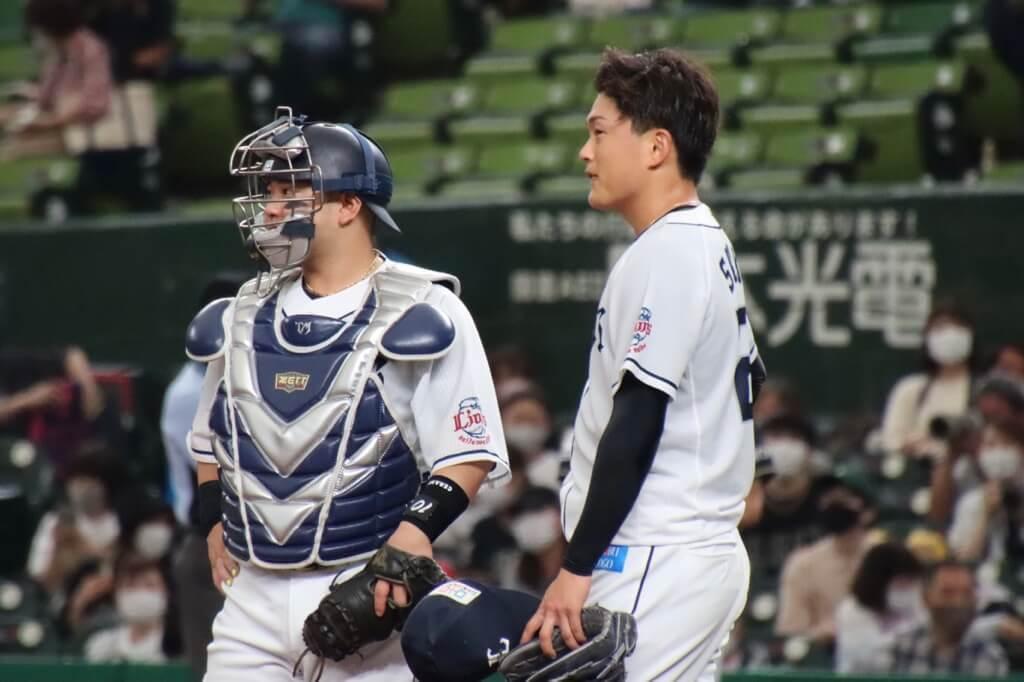 西武・佐々木健、わずか3球で危険球退場…「そりゃ誤算、残念です」【#辻コメ】(ライオンズナイター)