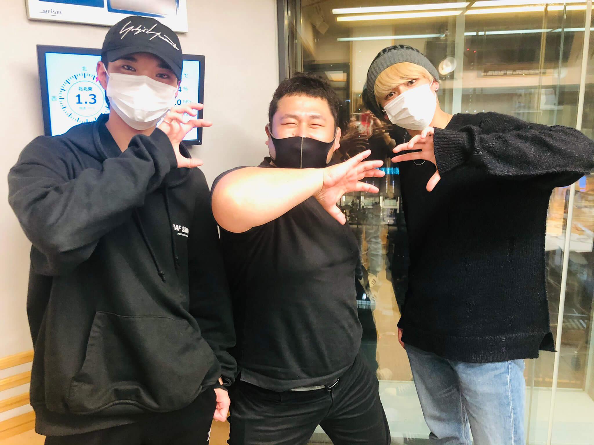 3/30(火)レコメンゲストはOWVの中川勝就くんと浦野秀太くんに遊びに来て頂きました!