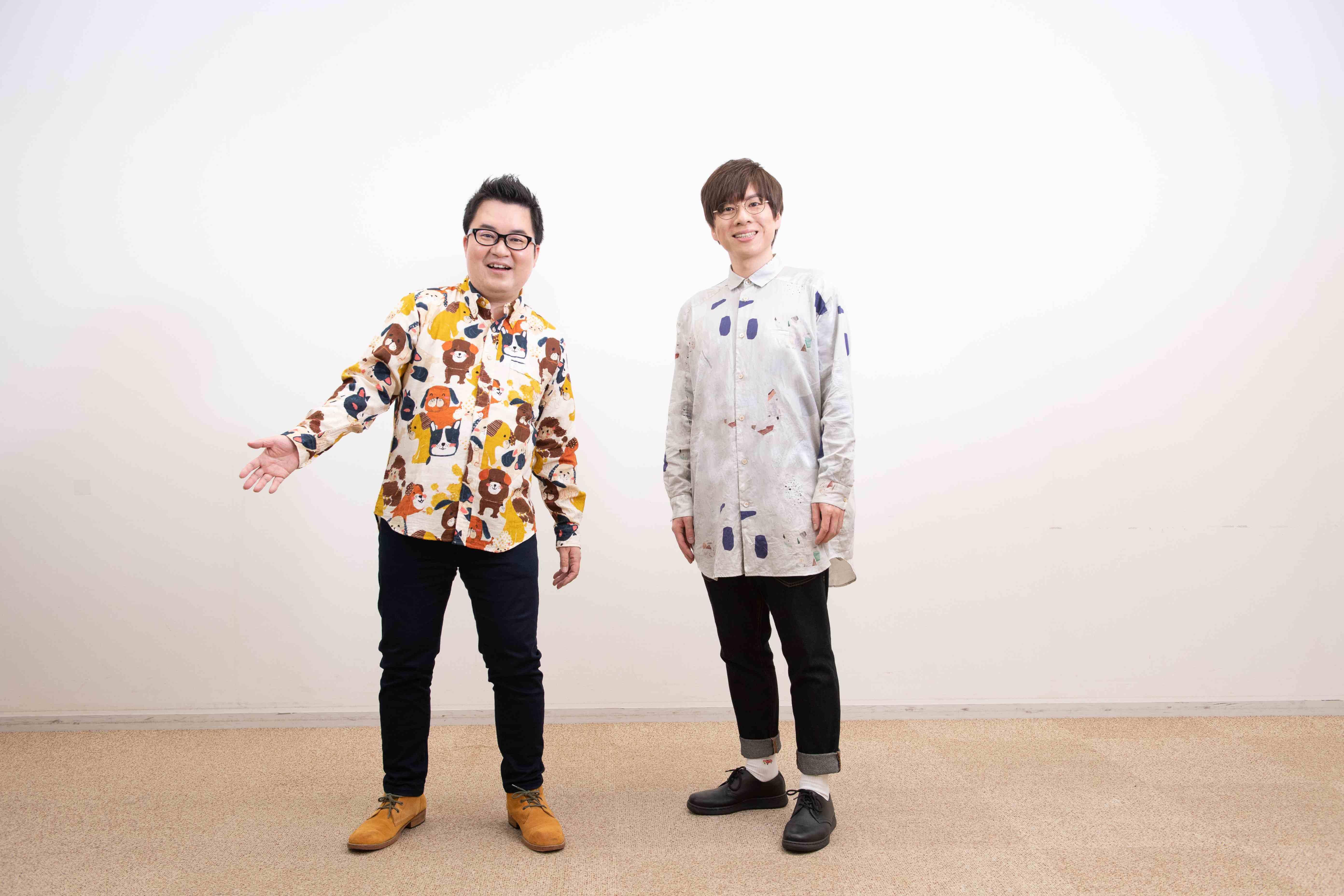 和田昌之×赤羽根健治が新たにバディを組み、 新時代のエンタメ業界を盛り上げる番組『WADAX Radio』